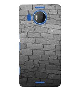 EPICCASE Granite Wall Mobile Back Case Cover For Microsoft Lumia 950 XL (Designer Case)