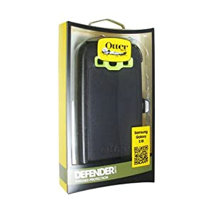 OTTERBOX Defender case is bump, drop &dust protection case w/swivel belt clip.Atomic.