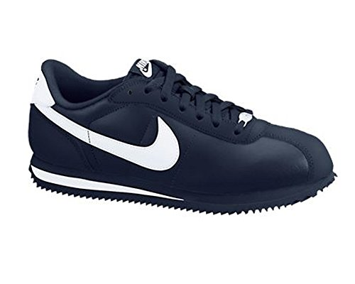 Nike Cortez Basic Leather '06 Mens Size 8 Blue Sneakers Athletic Sneakers Shoes