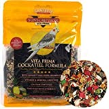 Sun Seed Vita Prima Cockatiel &amp; Lovebirds Formula Bird Seed Food 3-lb bag