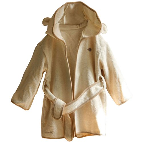 100% Organic Terry Baby, Newborn Bath Robe For 12 ~ 24months - 1