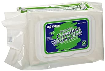 Hospeco At Ease HS-3899 Pre-Moistened Wipes in Soft Pack with Flip Top (12 Packs of 50)