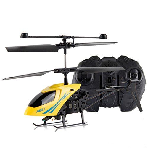 Keepfit RC 901 2CH Mini 2 Channel R/C Helicopter Radio Remote Control Aircraft with Gyro- Yellow (Missile Balloons For Your Car compare prices)