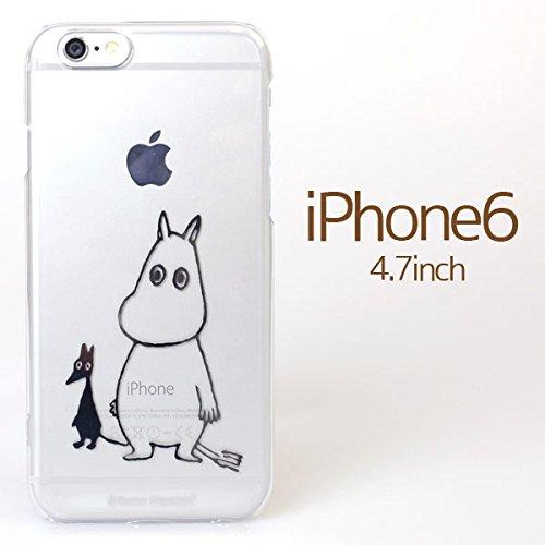 iPhone6 ケース カバー ムーミン iPhone 6 / 4.7 インチ inch キャラクター ハード クリア タイプ / ムーミン & ソフス