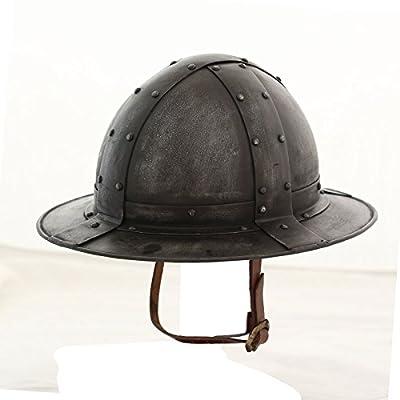 European, English Kettle Hat Helmet (LARP / Roman/ Medieval/Reenactment Costume Armor)