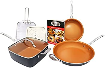 Gotham Steel 1371 Pantastic 7-Piece Fry Pan Set