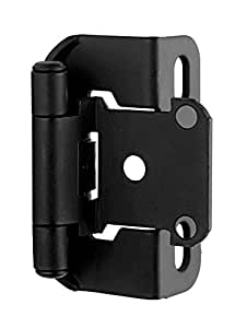 Self-Closing Partial Wrap Overlay Hinge (Set of 10)