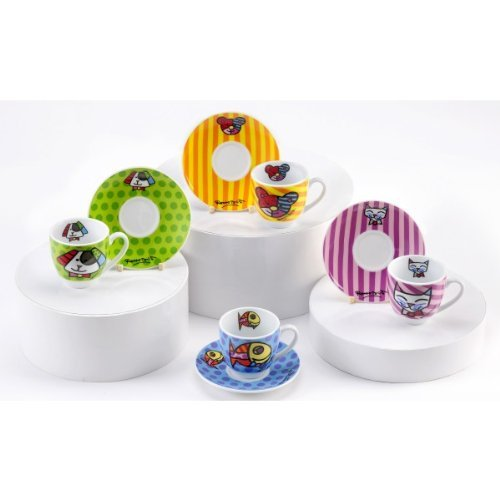 Espresso Cups With Stand front-627764