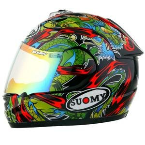 Suomy Spec 1R Extreme Dragon Helmet - Small/Dragon