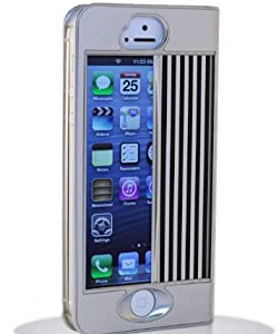 iPhone シャッターケース iGuard5 (サテンシルバー)