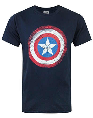 Uomo - Official - Captain America - T-Shirt (XL)