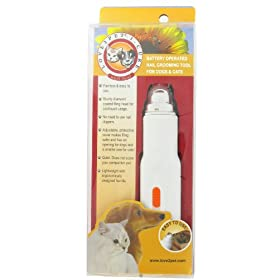 Love 2 Pet Grooming Products Love 2 Pet I-Cure Nail File (battery operated nail grooming tool for cats & dogs) (Pack of 5)