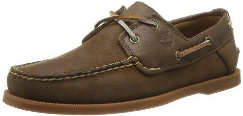 Timberland  C6306am Earthkeepers Heritage Boat 2 Eye,  Sneaker uomo, Marrone (Dark Brown), 44