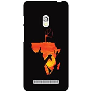 Back Cover For Asus Zenfone 5 A501CG -(Printland)