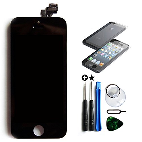Oem Front Assembly Lcd Display Screen Touch Digitizer Apple Iphone 5C Black
