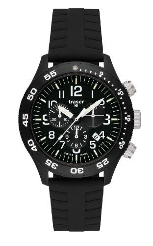 Traser H3 Herrenuhr Professional Officer Chronograph Pro P6704.YA3.I2.01 / 102370