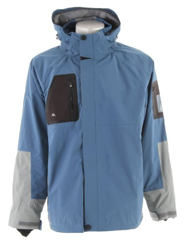 Stormtech Triton H2Xtreme Shell Jacket Teal/Grey Sz M