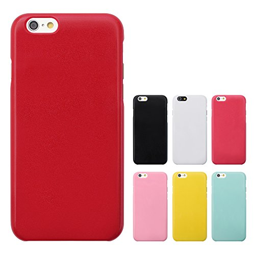 [Breeze] Apple iPhone6 Plus 5.5インチ ケース カバ アイフォン6 Plus iPhone6Plusケース カバー ★液晶保護フィルム ゲット iPhone6Plus カバー スマホカバー☆RED
