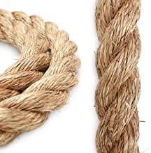 Knot and Rope 1 12quot Manila X 50 FT