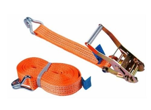 Heavy Duty 10m X 50mm Ratchet Tie Down Strap Trailer Cargo Belt Truck Tie New High Quality By ZUKTM