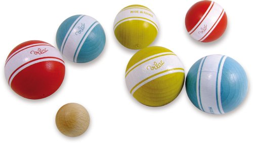 Vilac La Petanque Balls with Stripes