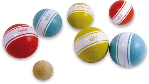 Vilac La Petanque Balls with Stripes