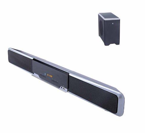 blaupunkt ls 160 soundbar mit funk ohne kabel subwoofer kabelloses hifi neu ebay. Black Bedroom Furniture Sets. Home Design Ideas