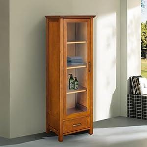 Amazon.com: Chamberlain Linen Tower Storage Cabinet: Home ...