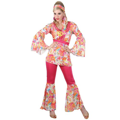 Hippie Honey - Adult Costume Lady: XXL UK 26-28
