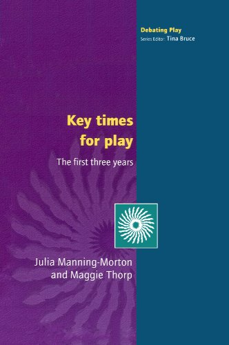 Key Times for Play (First Three Years)