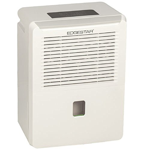 EdgeStar 30 Pint Portable Dehumidifier - White