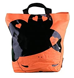 Harajuku Lovers The Love Neon Orange Tote Bag