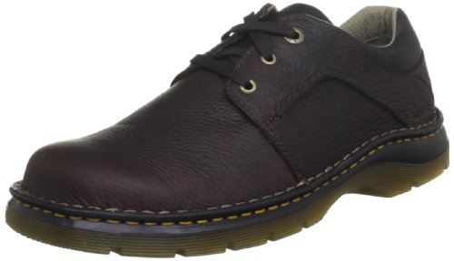 Dr. Martens Men's Zack 8B75 3 Eye Gibson Lace-Up Dark Brown 11194201 10 UK