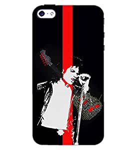 PrintDhaba GUITAR MUSIC D-6617 Back Case Cover for APPLE IPHONE 4S (Multi-Coloured)