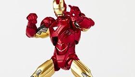 特撮リボルテック アイアンマン2 アイアンマンマーク6 ノンスケール ABS&PVC製 塗装済みアクションフィギュア 新パッケージ版 レガシーOFリボルテック