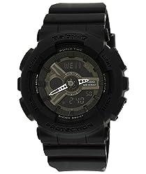 Casio Baby-G LED light Analog-Digital Black Dial Womens Watch - BA-110BC-1ADR (BX023)
