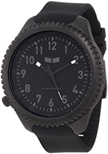 Vestal Men's UTL003 Utilitarian Black with Charcoal Watch