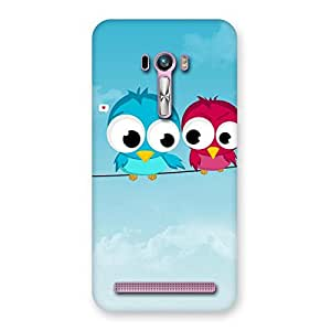 Gorgeous Birds on Wire Back Case Cover for Zenfone Selfie