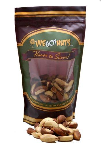 Brazil Nuts Raw Shelled (2 Lbs.)