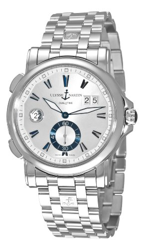 Ulysse Nardin Men's 243-55-7/91 GMT Big Date Watch