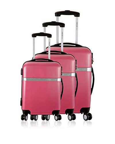 FRANCE BAG Set de 3 trolleys rígidos