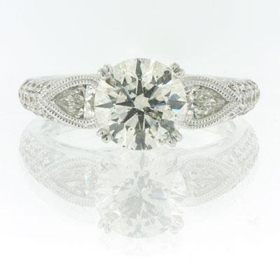 2.73ct Round Brilliant Cut Diamond Engagement 