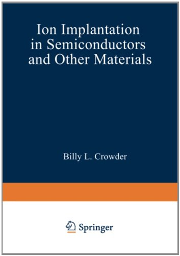 Ion Implantation In Semiconductors And Other Materials (The Ibm Research Symposia Series)