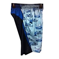 Lacrosse Lax Gear Mesh Shorts Performance Water Droplet Royal Navy Blue Adult