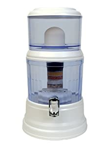 4 Gallon Countertop Water Filter - Transform Tap Water to Premium Alkaline Mineral... by Zen Water Systems
