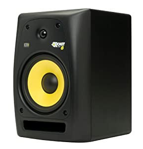 KRK RP8G2 Rokit G2 8In Powered Studio Monitor, Single Monitor