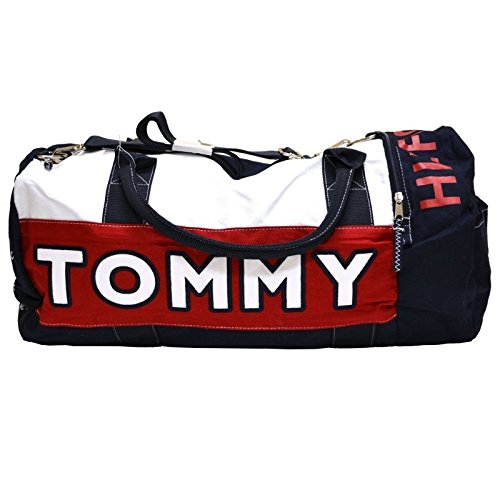 (click photo to check price). 3. Red-Navy Blue-White  TOMMY HILFIGER  LARGE DUFFLE  Bag ... 2e9f2d1fb7