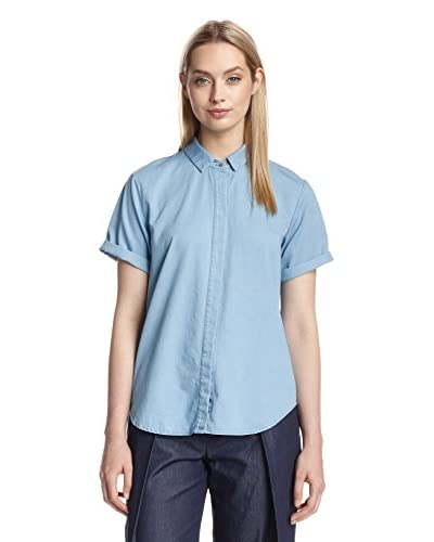 a.c.e. Women's Kelly Poplin Button-Up Top