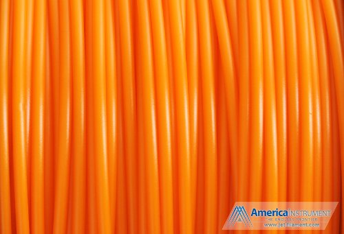 Jet - PLA (3mm, Orange color, 1.0kg =2.204lbs) Filament on Spool for 3D Printer MakerBot RepRap MakerGear Ultimaker & Up!