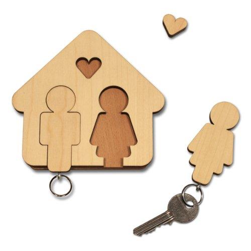 HOME SWEET HOME Schlüsselbrett von designimdorf